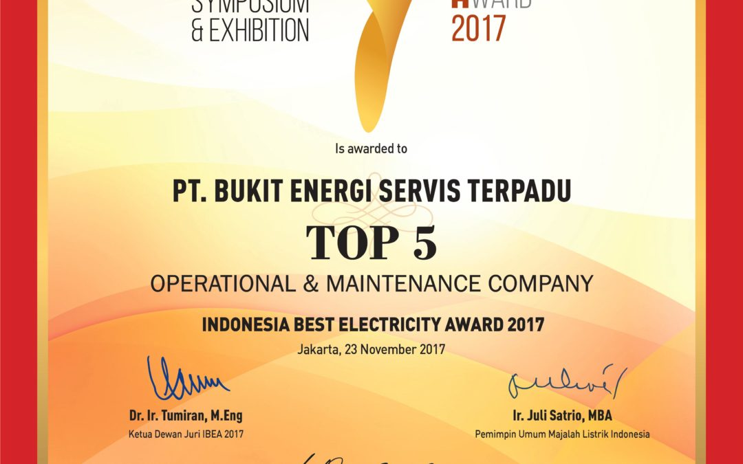 Top Five O&M Company